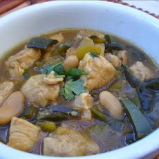 Lean Green Chicken Chili