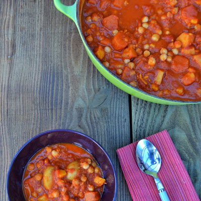 Hearty Chickpea and Sweet Potato Stew