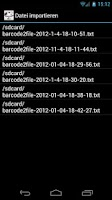 Screenshot of barcode2file