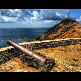 Fort Rodney!! St. Lucia!!! by Nicolas Donadio - City,  Street & Park  Historic Districts