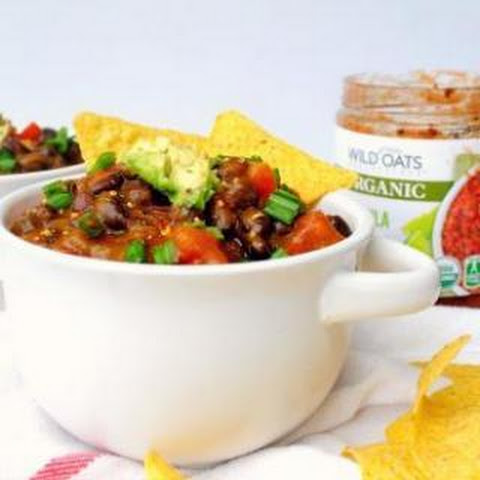 Vegan Pumpkin Black Bean Chili