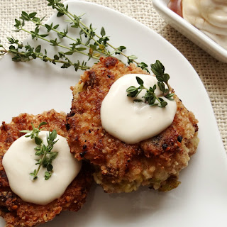Delicata Rissoles ~ Maple Cream