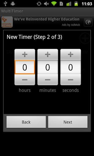 MultiTimer plus widget