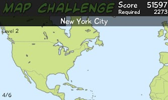 Screenshot of Map Challenge