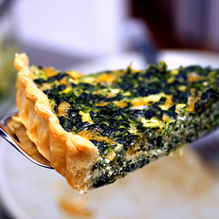 Spinach Quiche With Cream Cheese Recipes