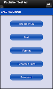 Call & Location Recorder - screenshot