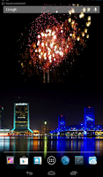 Screenshot of 2014 Fireworks Happy New Year