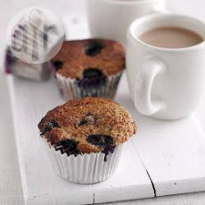 Blueberry And Bran Muffins