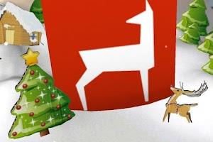 Screenshot of AR-App - Christmas Greetings