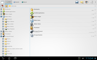 Screenshot of CASTLE File Manager