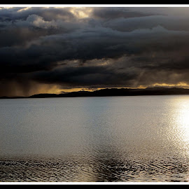 Storm Brewing Portmahomack by Paul Welsh - Landscapes Cloud Formations ( clouds, scotland, sky, scenery, storm )