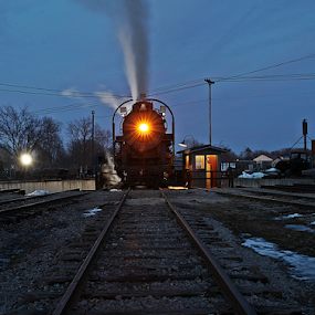 by Kevin Callahan - Transportation Railway Tracks