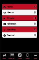 Screenshot of Chicago Bulls Fan App