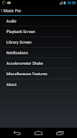Screenshot of Music Player Pro