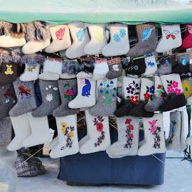 Russian Valenki by João Branquinho - Artistic Objects Clothing & Accessories ( winter, warm, russia, snow, valenki, suzdal )