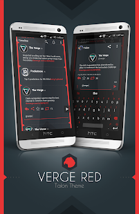 Talon Theme - Verge Red - screenshot