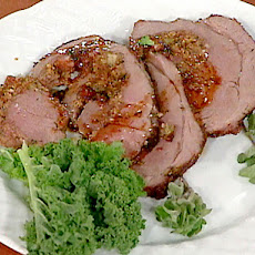New Orleans-style Stuffed Leg of Lamb