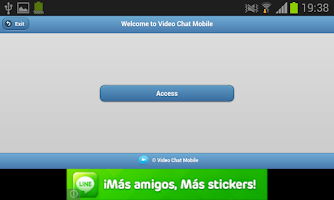 Screenshot of Video Chat Mobile
