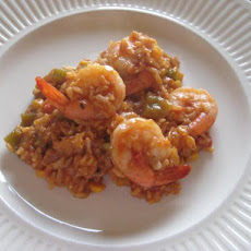 Healthy Shrimp Jambalaya