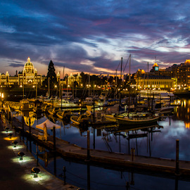 Victoria Inner Harbour by Doug Clement - Landscapes Travel