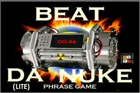 Beat Da Nuke Phrase Game lite