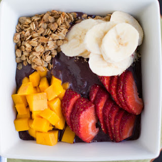 Acai Breakfast Bowl with Gluten Free Salted Maple Granola