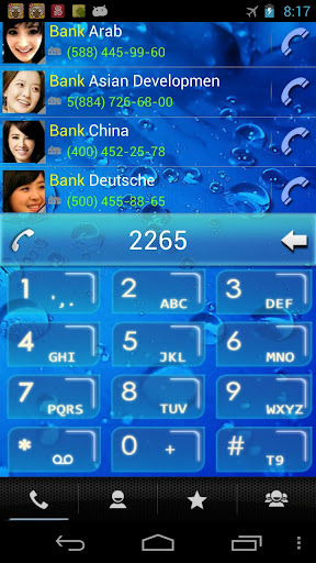 RocketDial Water Theme