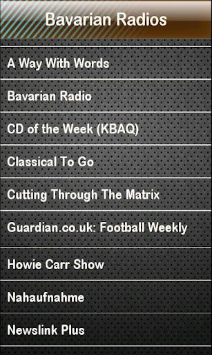 Bavarian Radio Bavarian Radios