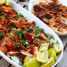 Tandoor-Style Grilled Chickens or Cornish Hens