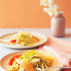 Endive Salad with Grapefruit and Chevre