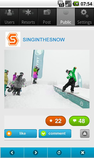Snowy スキー・スノーボードの写真共有サービス
