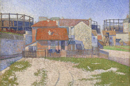 Gasometers at Clichy