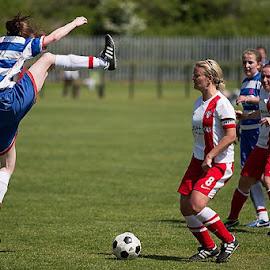 High Karate by Carson Ralton - Sports & Fitness Soccer/Association football ( football, sport, tackle, soccer )