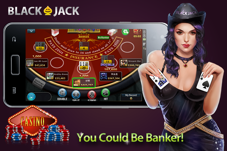 BlackJack 21— Free live Casino Screenshot