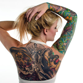 Kristina by Steve Forbes - People Body Art/Tattoos