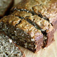 Banana-Oat Quick Bread