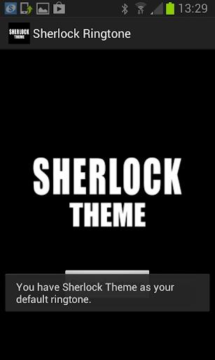 Sherlock Ringtone - screenshot