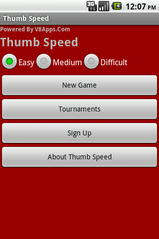 Thumb Speed no ads