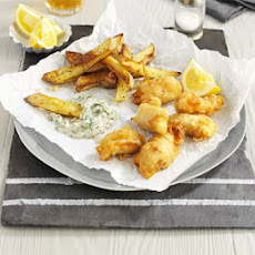 Scampi With Tartare Sauce