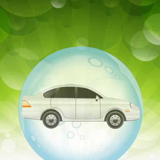 為幼兒的汽車和氣泡 教育 LOGO-玩APPs