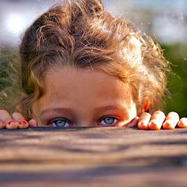 behind blue eyes by Alexandru Ciornea - Babies & Children Child Portraits