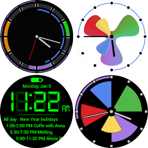 Calendar Watch Face Pack