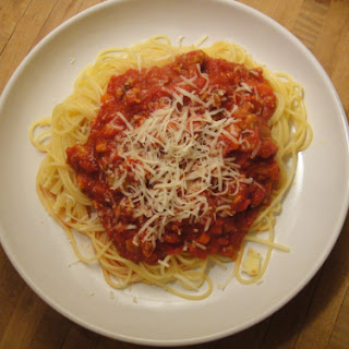 Tomato Sauce with Hot Pork Sausage