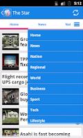 Screenshot of Malaysia News
