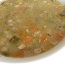Brown Rice & Vegetable Soup