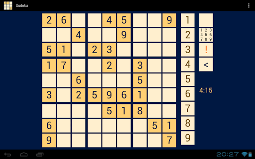 Sudoku for Tablets Pro - screenshot