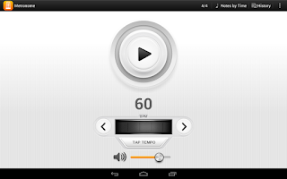 Screenshot of Metronome Cifra Club