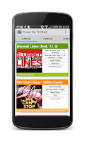 Screenshot of Chartix: Android Music Charts