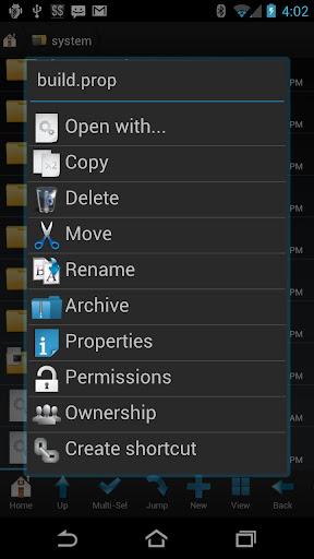 Root Browser - screenshot