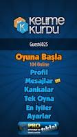 Screenshot of Kelime Kurdu
